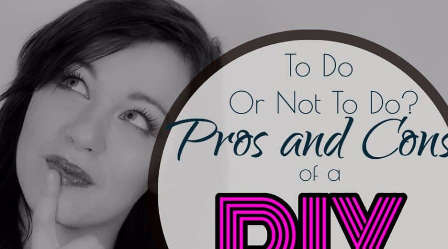 To Do or Not To Do: Pros And Cons of a DIY Wedding