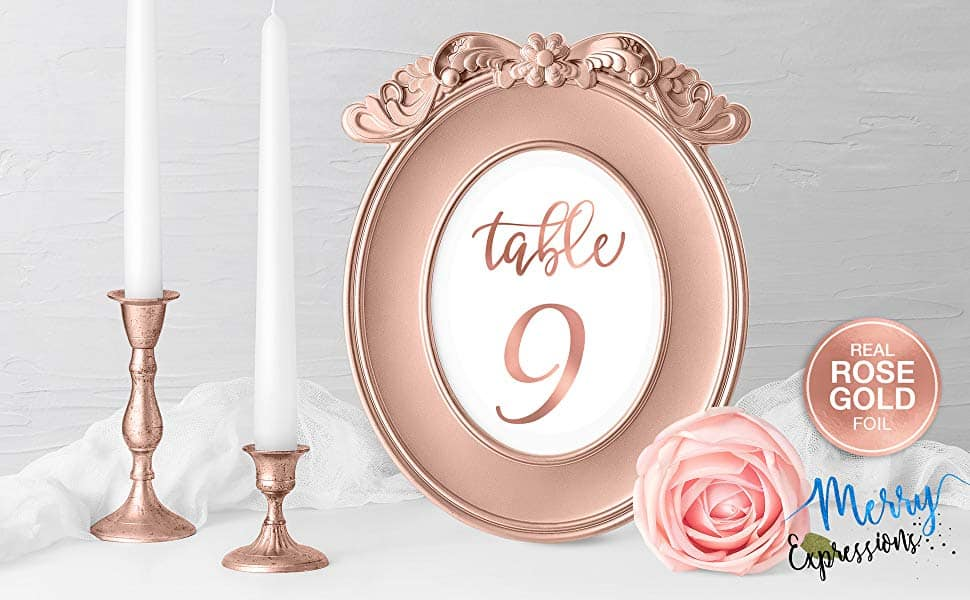 PERFECT FOR WEDDINGS OR ANY ROSE GOLD EVENT